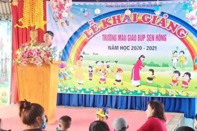 Trường Mầm non Búp Sen Hồng khai giảng năm học mới 2020 – 2021