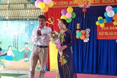 """Trường MG Búp Sen Hồng tổ chức """"Lễ Tri Ân"""" nhân kỷ niệm ngày nhà giáo Việt Nam 20/11"""