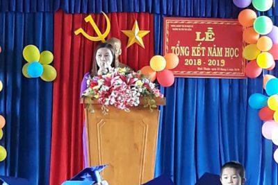 Lễ tổng kết năm học 2018 – 2019 trường MG Búp Sen Hồng
